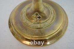 + 100 Year Old Hand Made Cup Sterling Silver Church Chalice 8 (CU606) +