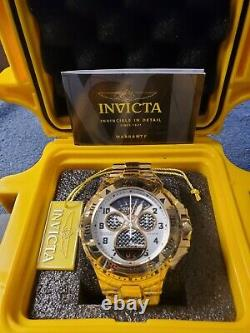 17470 Invicta Reserve Excursion Swiss Made Mens Watch Stainless Steel 50MM
