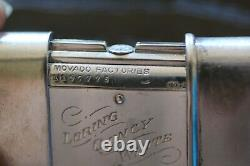1920's Movado. 935 Sterling Silver Purse Watch Swiss Made