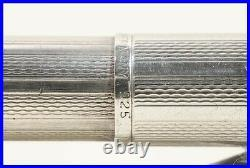 1975 made 925 Sterling Silver 4 COLORS Ballpoint Pen MONTBLANC PIX-O-MAT system