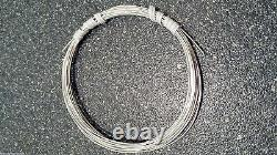 925 Sterling Silver SQUARE Wire Coils 6 20Ft Gauges 8 24 Dead Soft USA Made