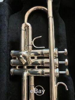 Accent Trumpet Silver TR781 with case Made In Germany