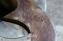Antiqued Iron Custom Made Sterling Silver Horse Concho Bit by J. Wilson