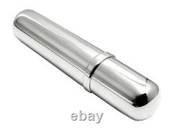 Arfasatti Solid Sterling Silver Cigar Case for Toscano Cigar Made in Italy