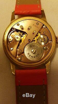 Authentic (rare) Hermes Paris Swiss made watch model Inconnue Limited edition