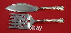 Buttercup by Gorham Sterling Silver Fish Serving Set 2 Piece Custom Made HHWS