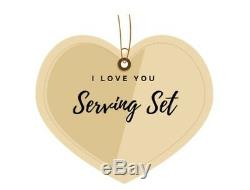 Buttercup by Gorham Sterling Silver I Love You Serving Set 3pc Custom Made