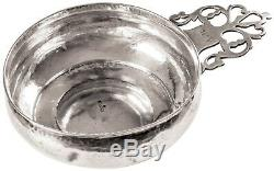 C 1770 PAUL REVERE JR Silversmith Made Silver Porringer Hallmarked REVERE Boston