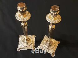 Camusso Candelabra Sterling Silver. 925 / Used. Made in Peru