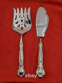 Chantilly by Gorham Sterling Fish Serving Set Custom Made