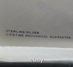Cross sterling silver ballpoint pen and 0.9mm mechanical pencil set made in USA