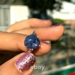 Custom Made Natural Ceylon Star Sapphire Ring