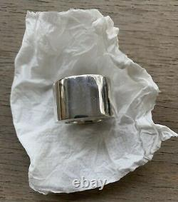Custom Made To Order, Wide Heavy Solid Sterling Silver Ring Band