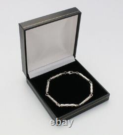 Danish sterling silver bracelet designed and made by Arne johansen