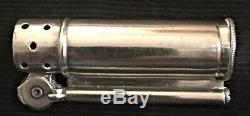Dunhill Sterling Silver Military Lighter WW II Vintage Made In USA