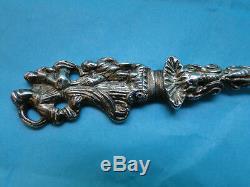 Dutch Apostle Spoon Made In Sterling Silver Circa 1881