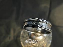 Dutch Sterling Silver Candle Holder Made Circa 1880 Import Mark London 1905
