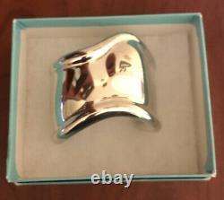 Elsa Peretti for Tiffany & Co. Sterling Silver Bone Cuff, Made in Italy