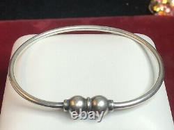 Estate Sterling Silver Cape Cod Bracelet Signed 2789-ar Made In Italy