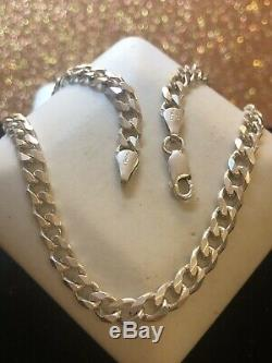 Estate Vintage Sterling Silver Chain Solid Made Italy Men's Signed Pgda 24