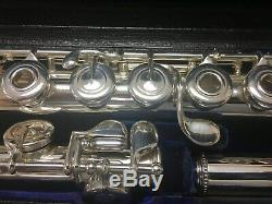 Extra-clean Pre-eastman W. S. Haynes Handmade 1970 Flute 100% Made In USA