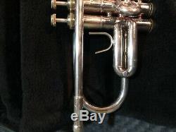 F. Schmidt trumpet mode mk37ltd made in the B&S factory same specs as Challenger2