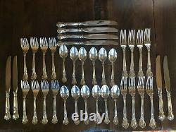 GORHAM Chantilly 36 Piece Sterling Silver Flatware no Mono Made After 1950