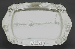 GORHAM MARTELE HAND MADE STERLING SILVER TRAY. 9584 GFrom Martele line