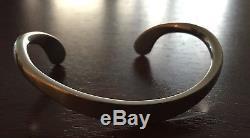 Georg Jensen Andreas Mikkelsen Bangle 10a Sterling Silver Made In Denmark
