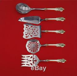 Grande Baroque by Wallace Sterling Silver Brunch Serving Set 5-Piece Custom Made