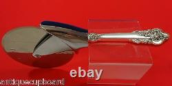 Grande Baroque by Wallace Sterling Silver Pizza Cutter HHWS Custom Made 9 1/4