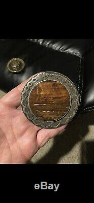 Grateful Dead Buckle Belonged To Pigpen Sterling silver made by Jack Van Allen