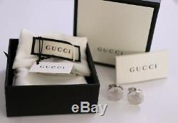 Gucci Sterling Silver BEE Cuff Links made In Italy withCOA and original box