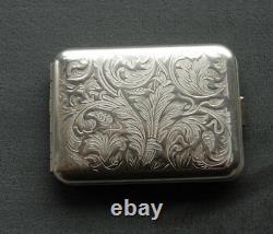 Hansaware Strassburg Sterling Silver Small Pocket Pill Case Made in Germany