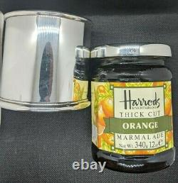 Harrods Sterling Silver Marmalade Sleeve Made By Theo Fennell