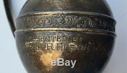 Howard Hughes - Authentic 1927 Hollywood Golf Trophy - Made Of Sterling Silver