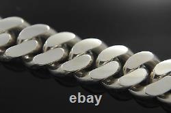 I. D. Cuban Bracelet Hand Made Sterling Silver. 925 Custom Name