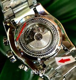 Invicta Men's New 30075 52mm Bolt Zeus Swiss Made SW500 Automatic Diamond Watch