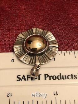 James Avery Sterling & 14K Pendant Retired, Custom made (Read Description) 7.7 G