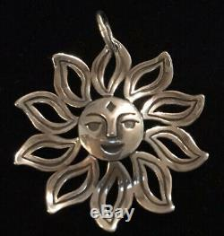 James Avery Sun You Are My Sunshine Pendant Made From Earring Sterling Retired