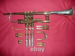 King Silversonic Trumpet Made By The H. N. White Co, Solid Sterling Silver Bell
