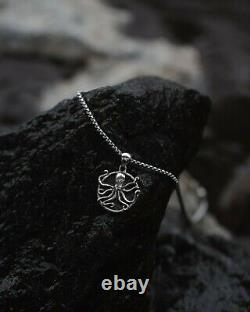 Kraken Rum x Clocks & Colours Sterling Silver Necklace Only 100 Made