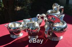 Made in Peru by Welsch Sterling Tea/Coffee 5 Piece Set (All Sterling)