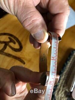 Men's Copper & Sterling Silver Cuff Bracelet Native American Made
