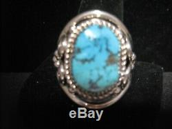 Men's Size 15 Turquoise Ring Native American Made R97N