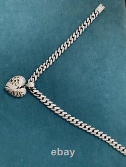 Mens Cuban Miami Link 12mm Chain 925 Silver 40-60ct Man Made Diamonds 18-30
