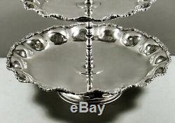 Mexican Sterling Tray c1950 Signed Hand Made 105 Oz