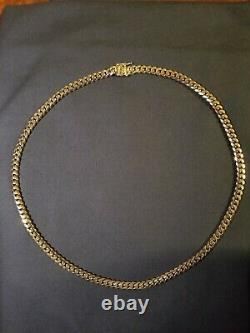 Miami Cuban Link Chain 925 Sterling Silver (Made in Italy) 6mm 22 Box Lock 51g