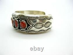 Native American Made Sterling Silver Bracelet