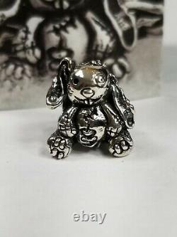 OHM Bead HOLEY BUNNY BOTM Only 789 made. New with certificate